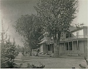 northeast side of house 1898